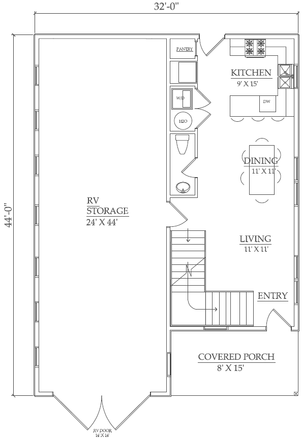 Rv garage plans joy studio design gallery best design for Rv barn plans